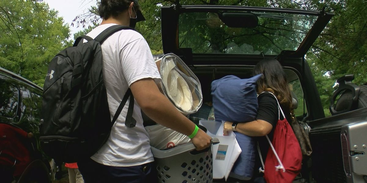 Bellarmine hosts first-year student move-in day as coronavirus concerns cancel fall sports