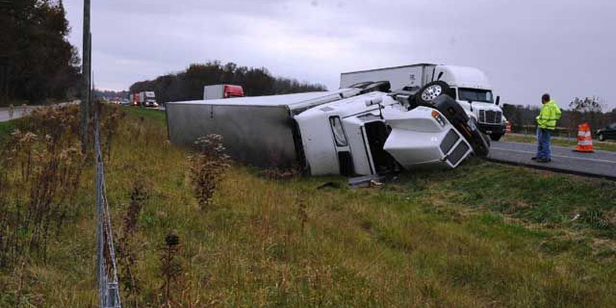 Trucker facing drunk driving charge after crash on I-65 in Indiana