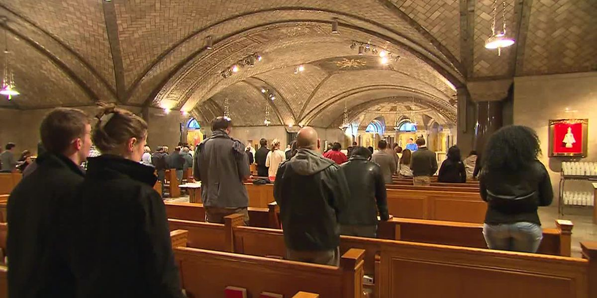 Coronavirus outbreaks reported at some churches with in-person services