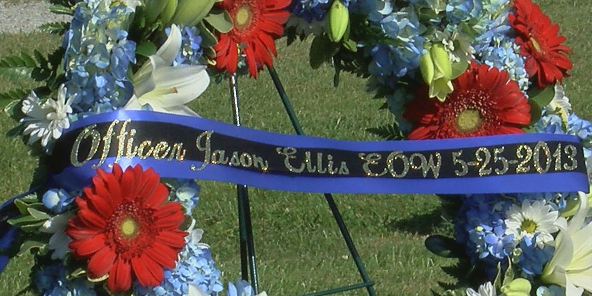 Fallen officer Jason Ellis honored 5 years after death