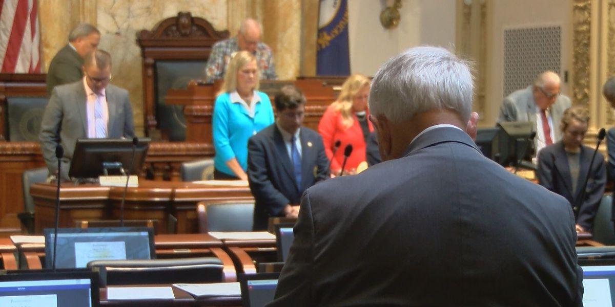 Kentucky General Assembly won't convene this week