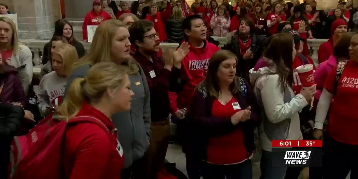 Bills protested by teachers see little movement, but remain viable
