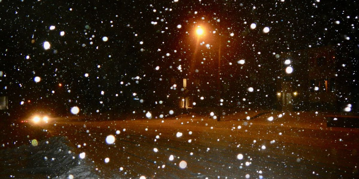 FORECAST: A few flurries overnight, mainly north & east
