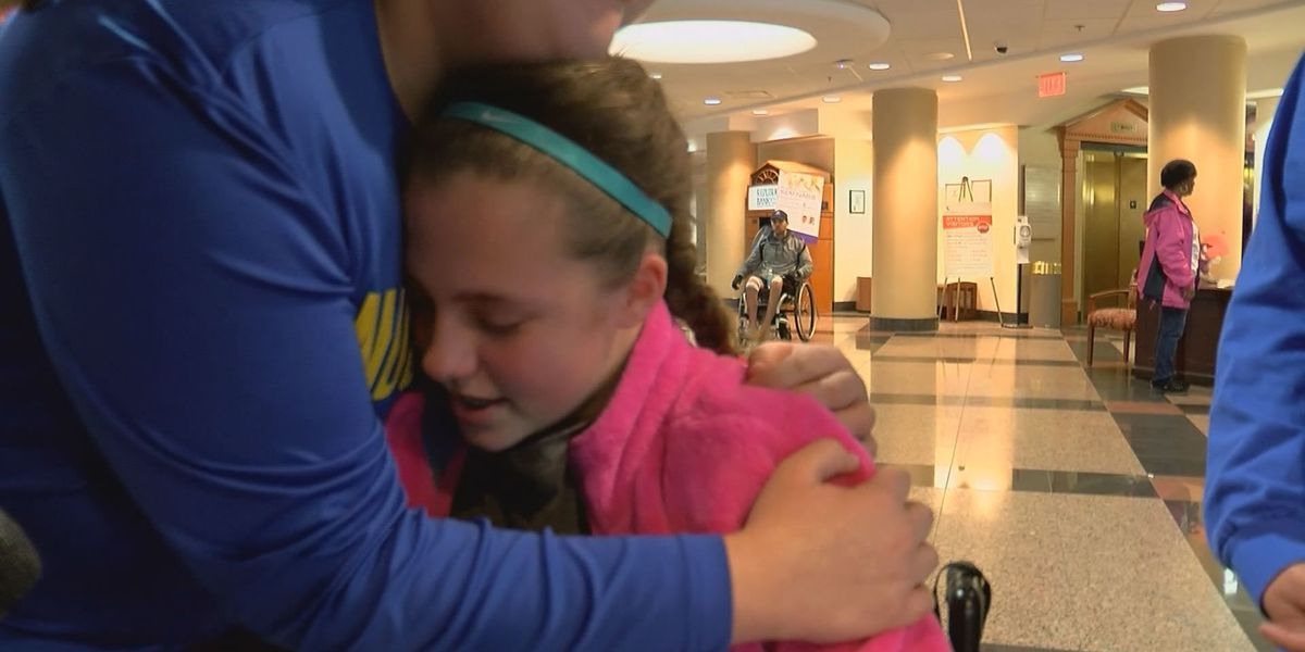 Pass the Cash: 6th grader loses use of her legs