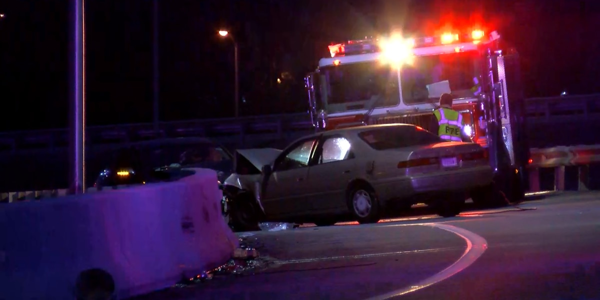 4 injured in wrong-way collision on I-64 East