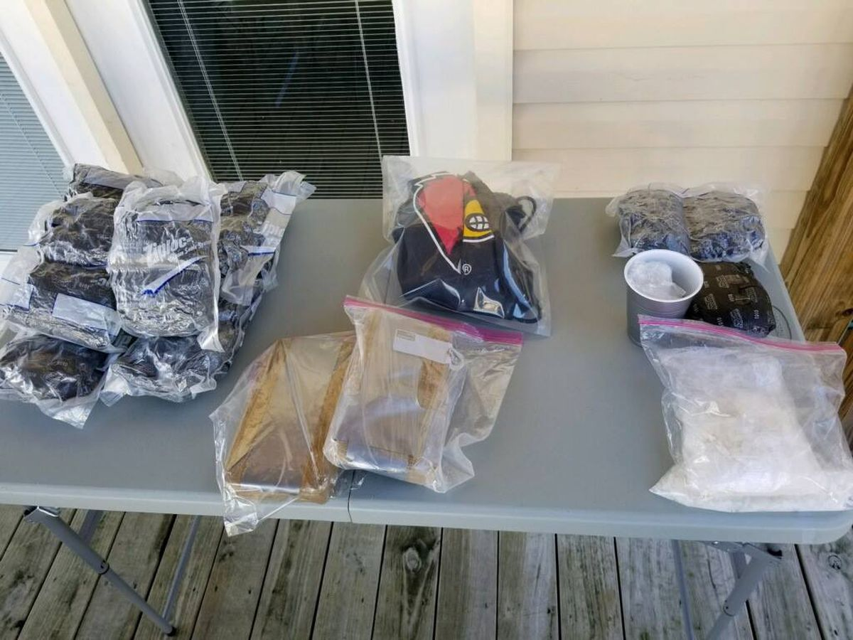 Drug bust in PRP nets 25 pounds of meth, 3 kilos of heroin
