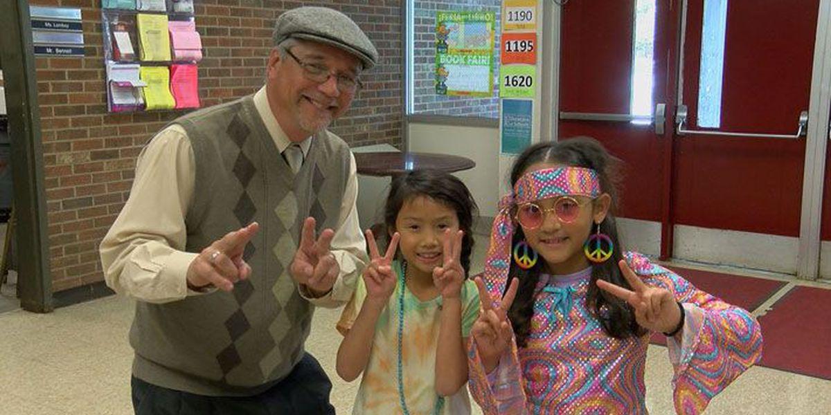 Norton Elementary celebrates 50 years, 60's style