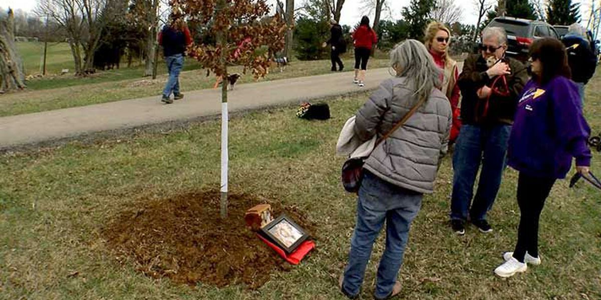 Tree planting program honors lost pets, benefits neglected animals