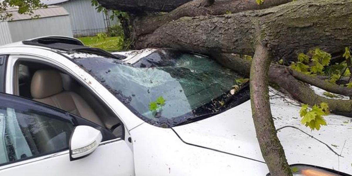 EF-1 tornado causes damage in Tompkinsville