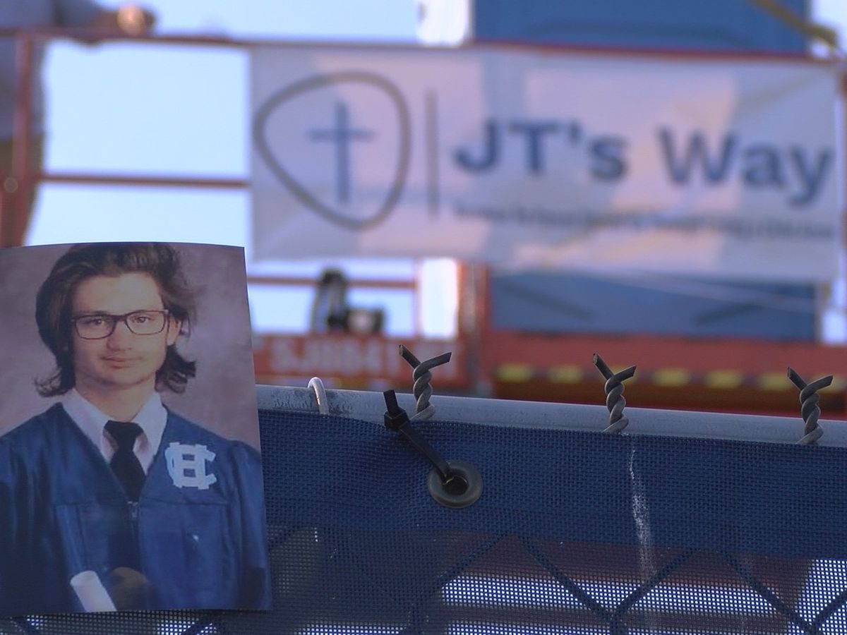 JT's Way organization 'lifting awareness' about losing a child