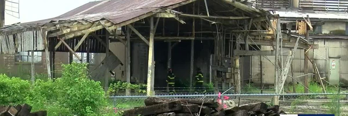 Huge blaze at StemWood lumber mill in New Albany under investigation