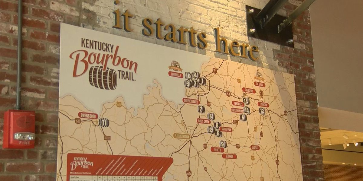 Kentucky Bourbon Trail gets an official starting point