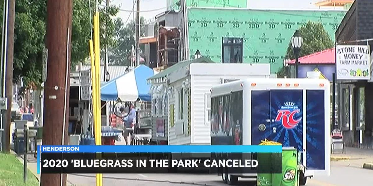 Bluegrass in the Park Folklife Festival canceled