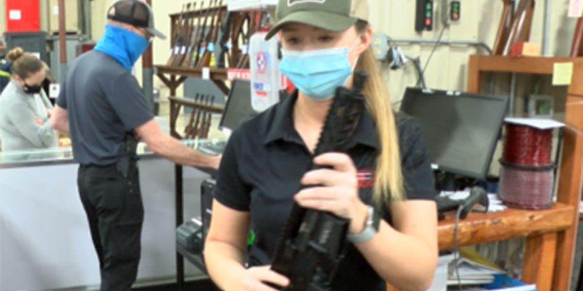 Gun buyers go shopping, hoping to stay ahead of new gun legislation