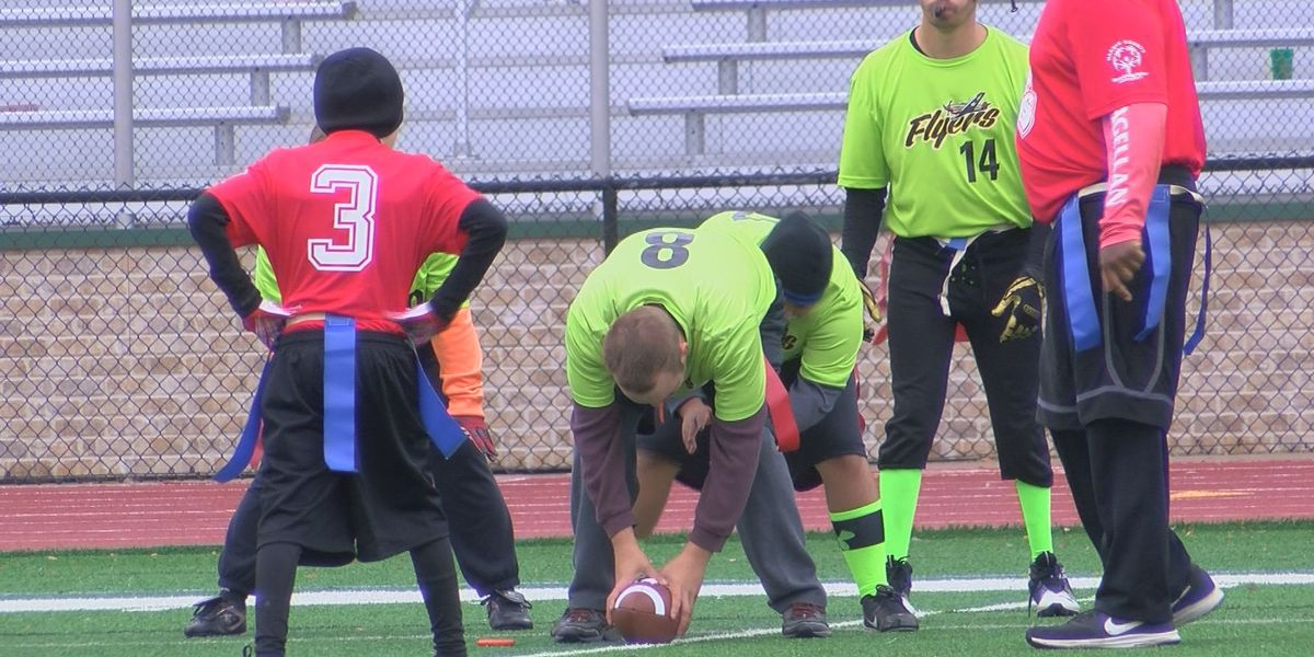 28 teams compete in Special Olympics flag football tourney