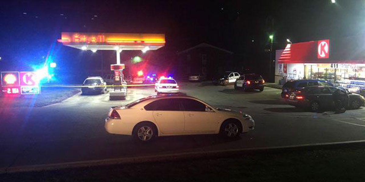 Shooting victim calls 911 from Frankfort gas station