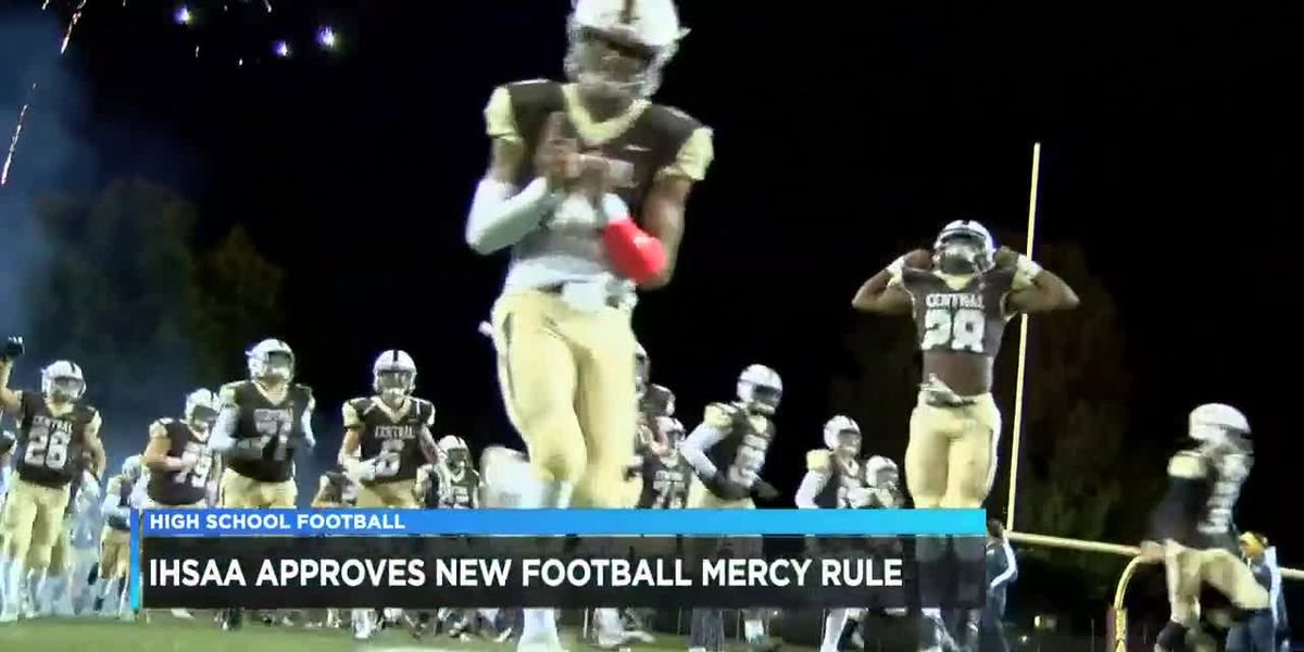 IHSAA approves football mercy rule