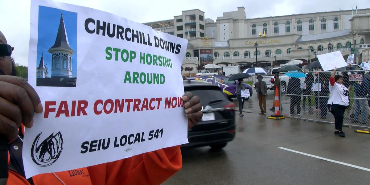SEIU authorizes potential Derby valet strike at Churchill Downs
