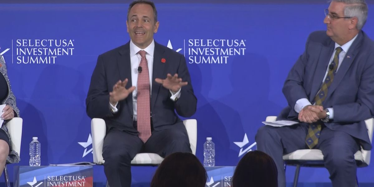Governor Matt Bevin participates in Select USA Investment Summit