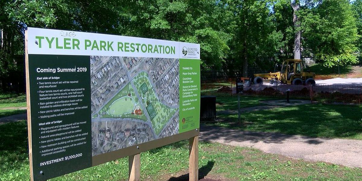 Tyler Park breaks ground on renovations