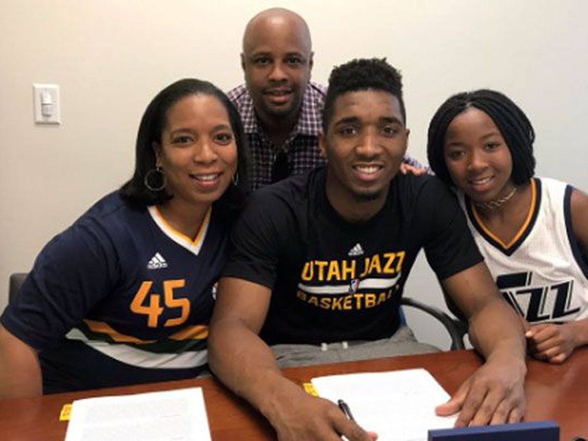 Donovan Mitchell signs three-year deal with Utah Jazz