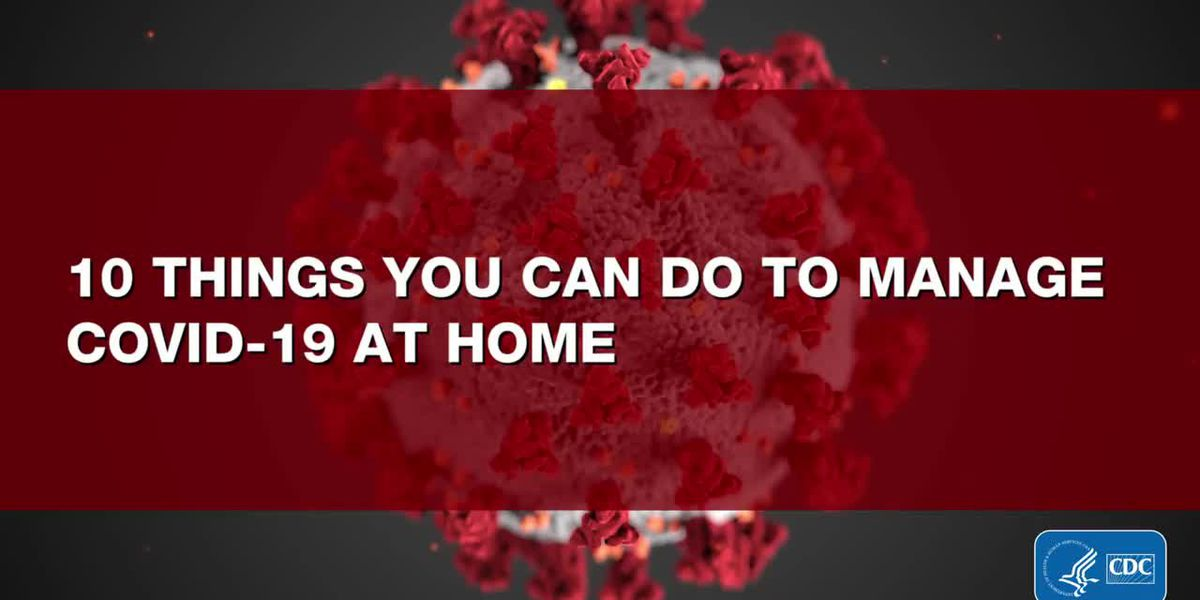 10 things you can do to manage coronavirus at home