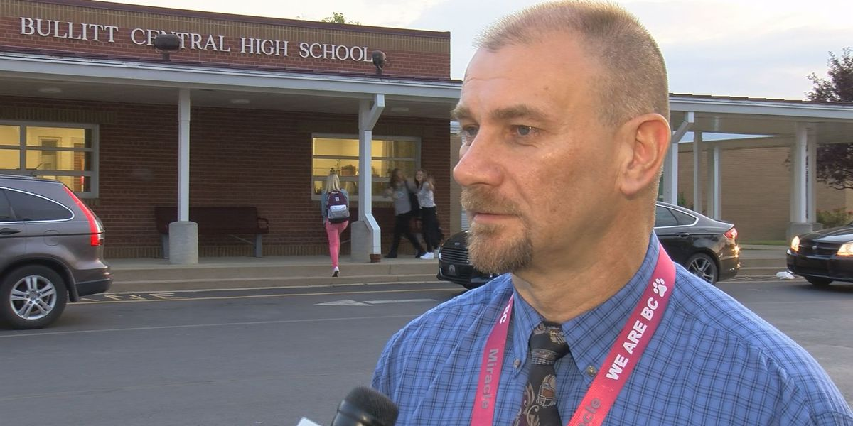 Bullitt Central High School welcomes new principal on first day of school