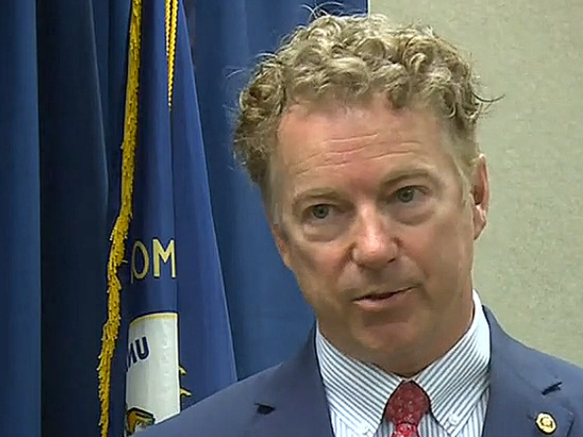 Sen. Rand Paul says some of Kentucky's COVID-19 mandates still in effect are unconstitutional