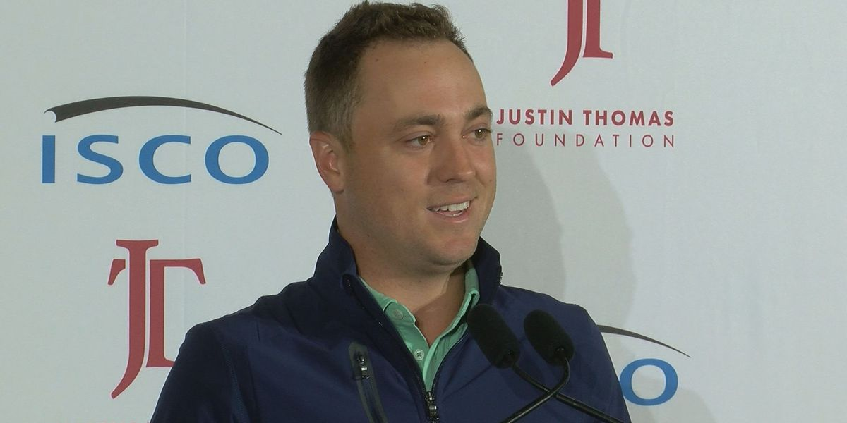 Justin Thomas launches foundation to help children, military families