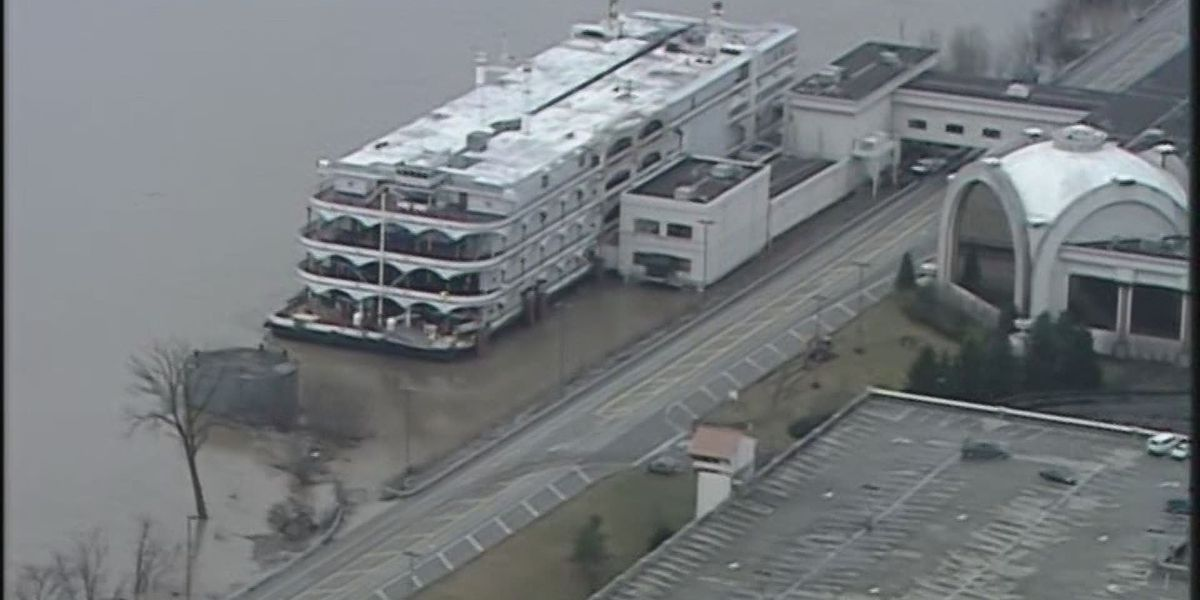 Horseshoe Southern Indiana closes casino due to river level