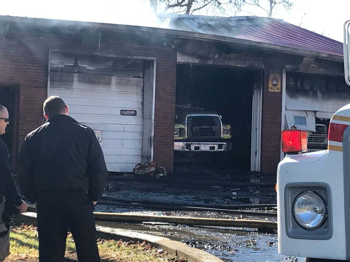 Fire that destroyed Indiana firehouse caused by electrical issue