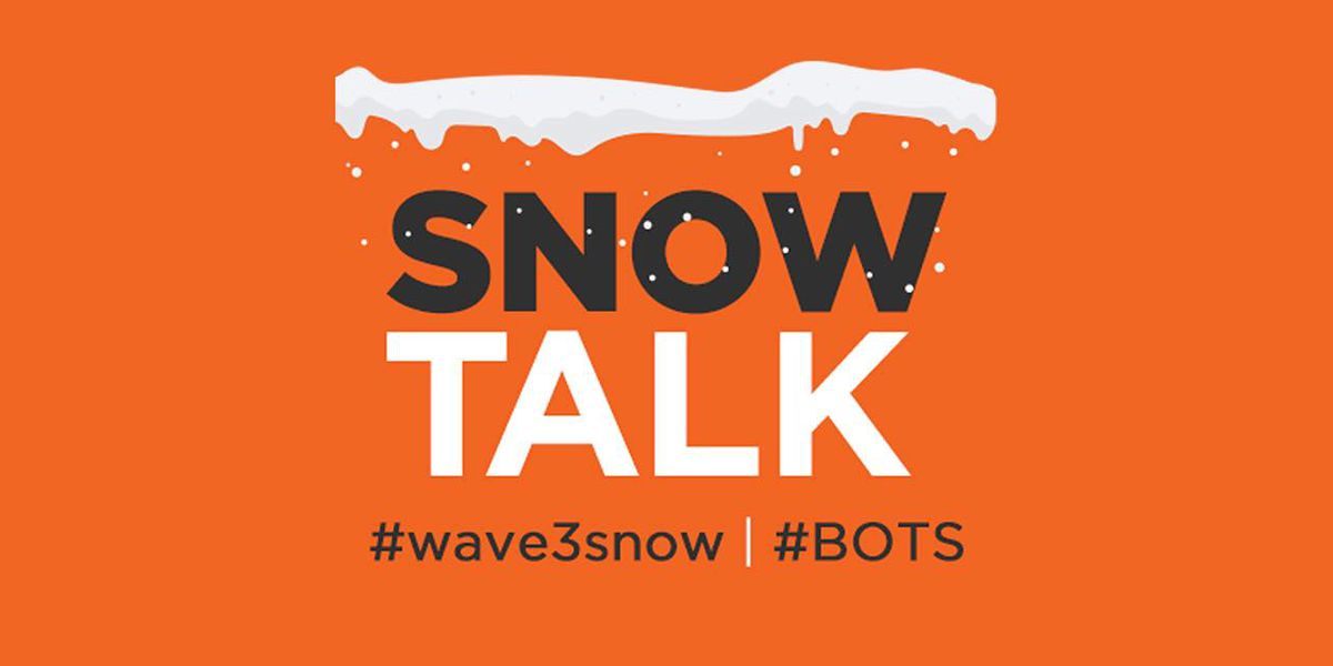 Storm/SnowTALK! Wednesday Edition