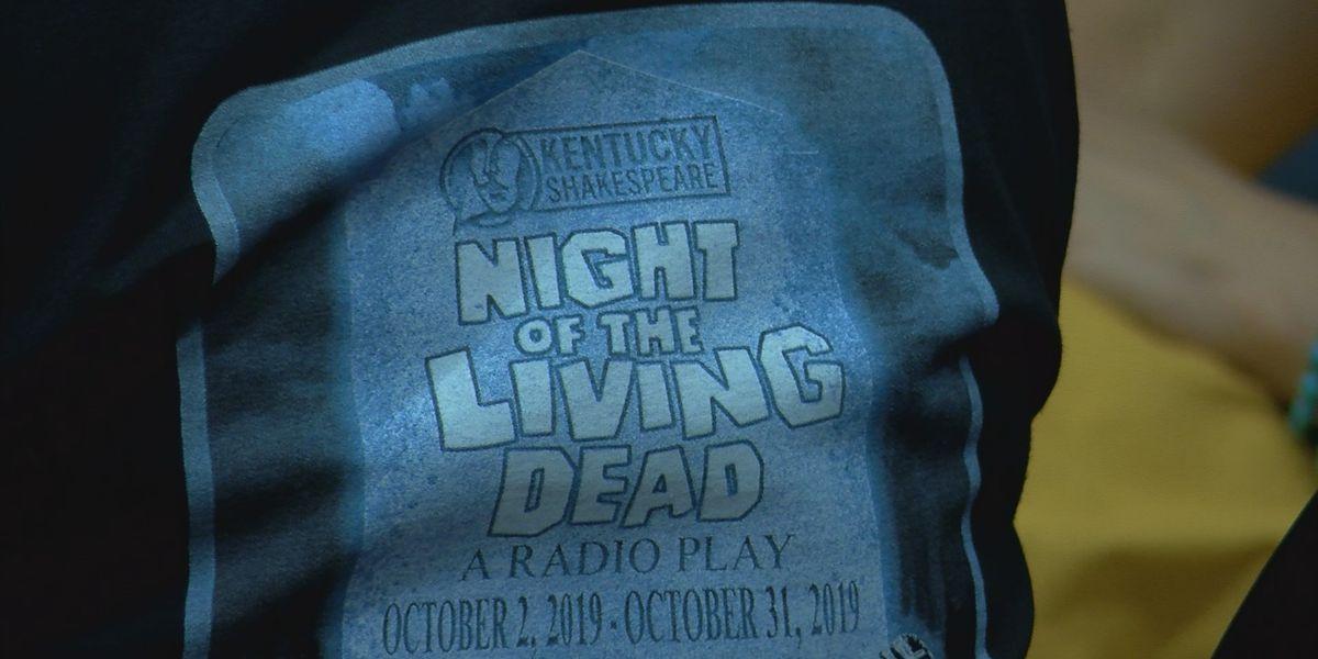 Night of the Living Dead radio play performance happening through Halloween