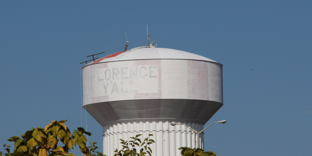 DON'T WORRY: 'Florence Y'all' water tower isn't changing