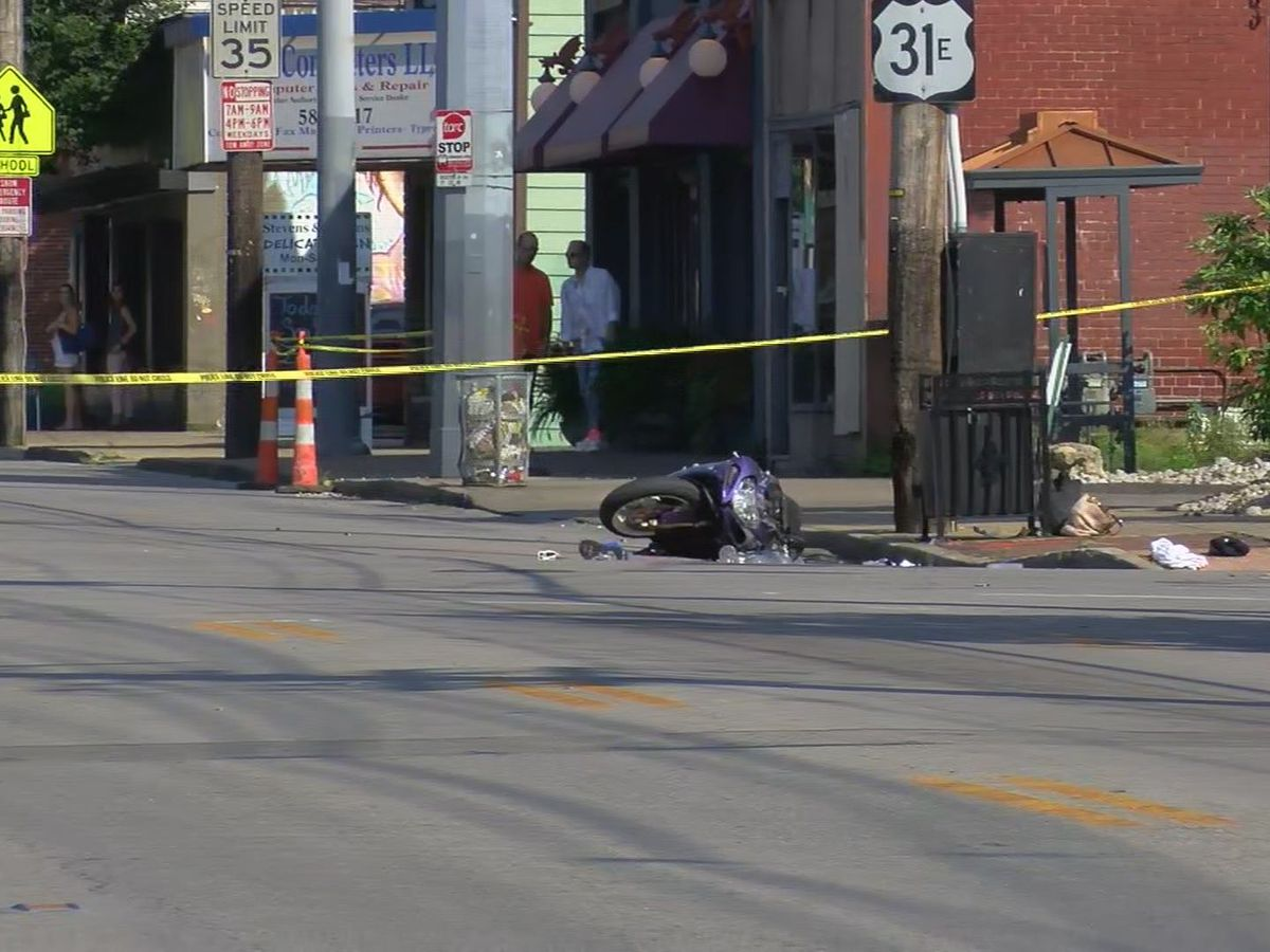 Busy Bardstown Road intersection closed due to serious motorcycle crash