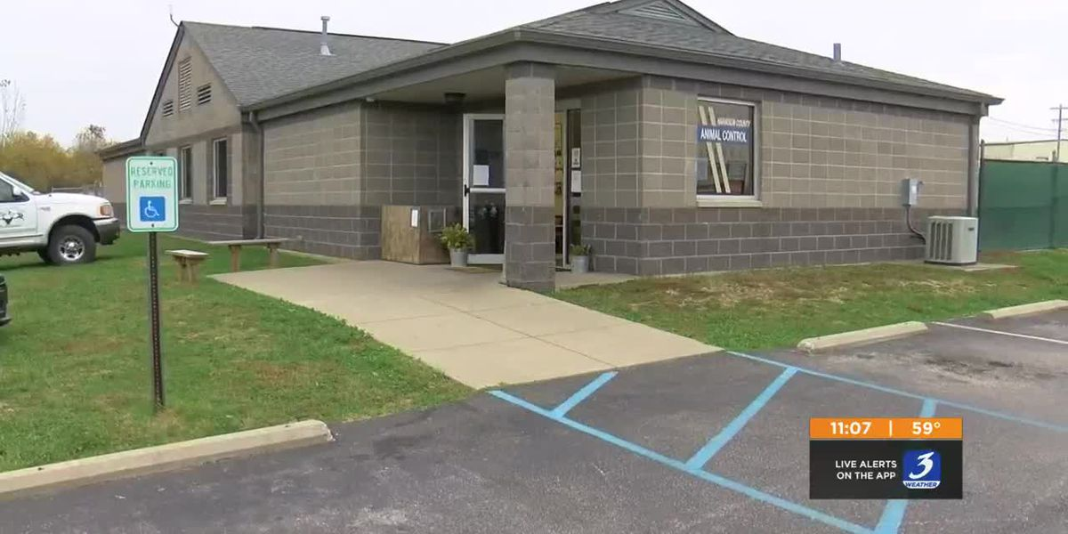 Sewage leak at Harrison County Animal Control leaves animals standing in four inches of filth