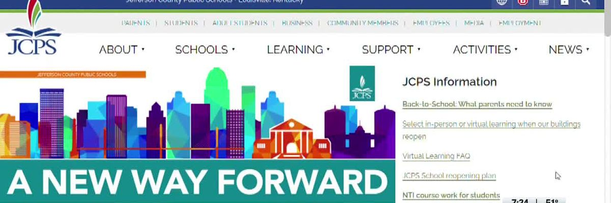 JCPS launches back-to-school website to answer parent, student questions