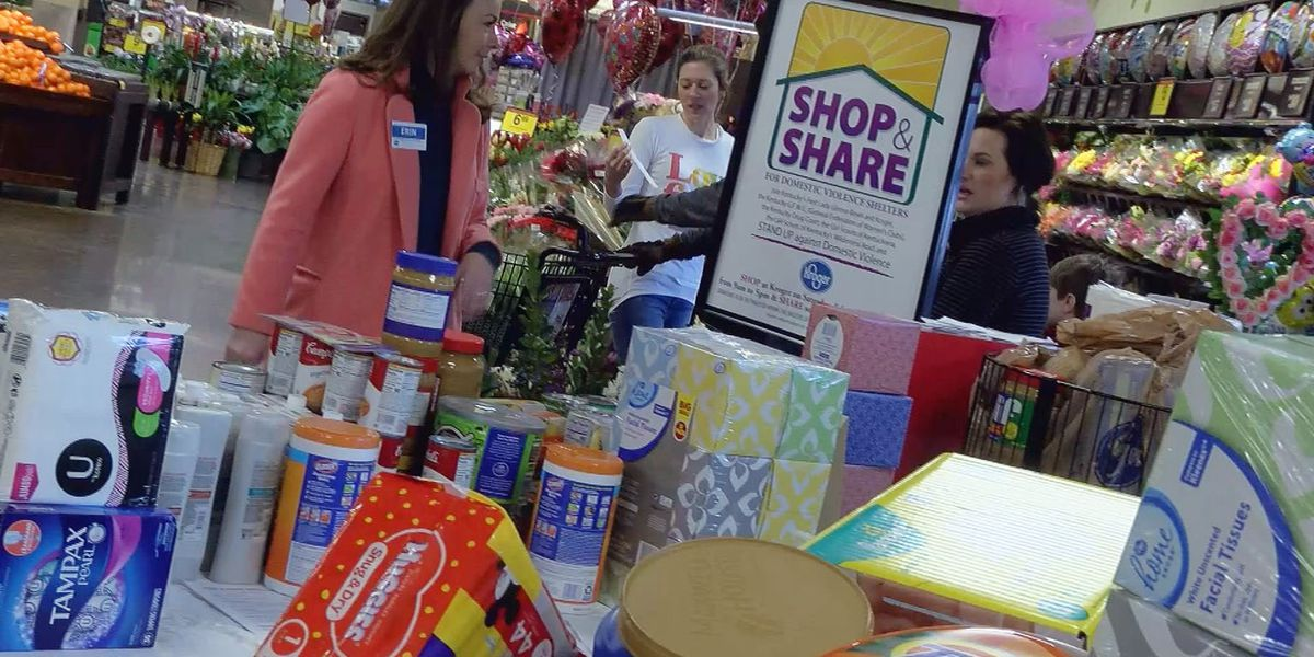 'Shop & Share' event helps local domestic violence shelters