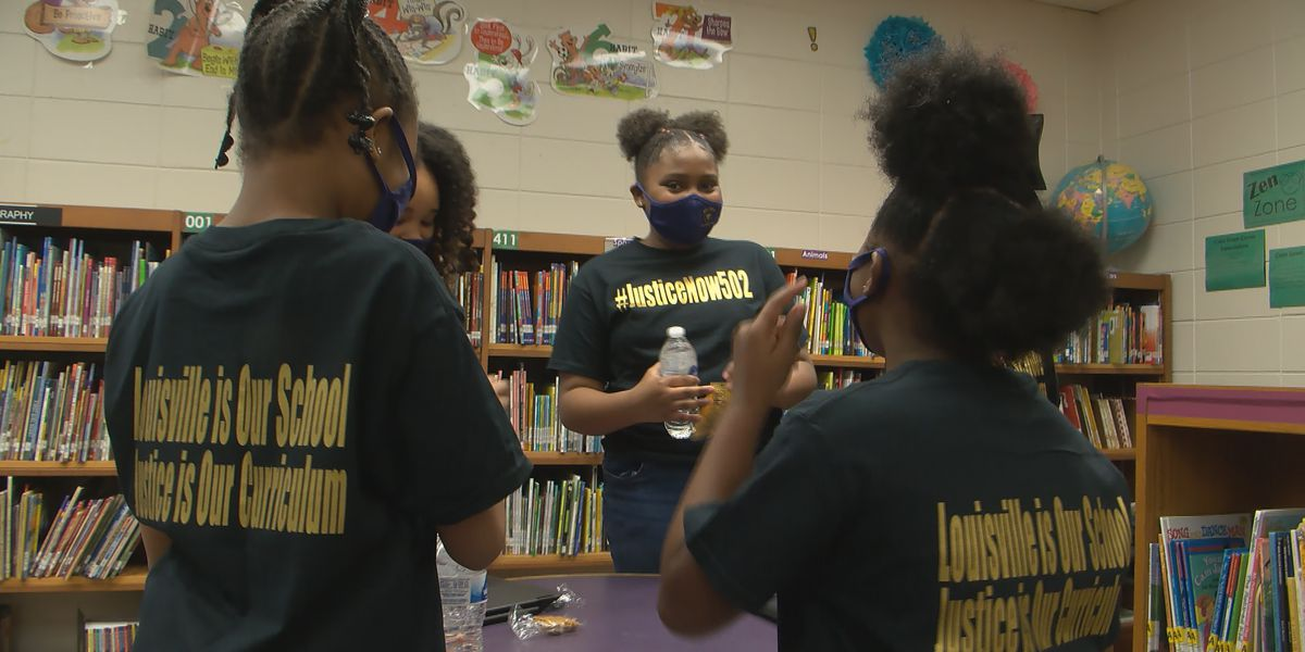 Group of JCPS elementary students look to tackle homelessness