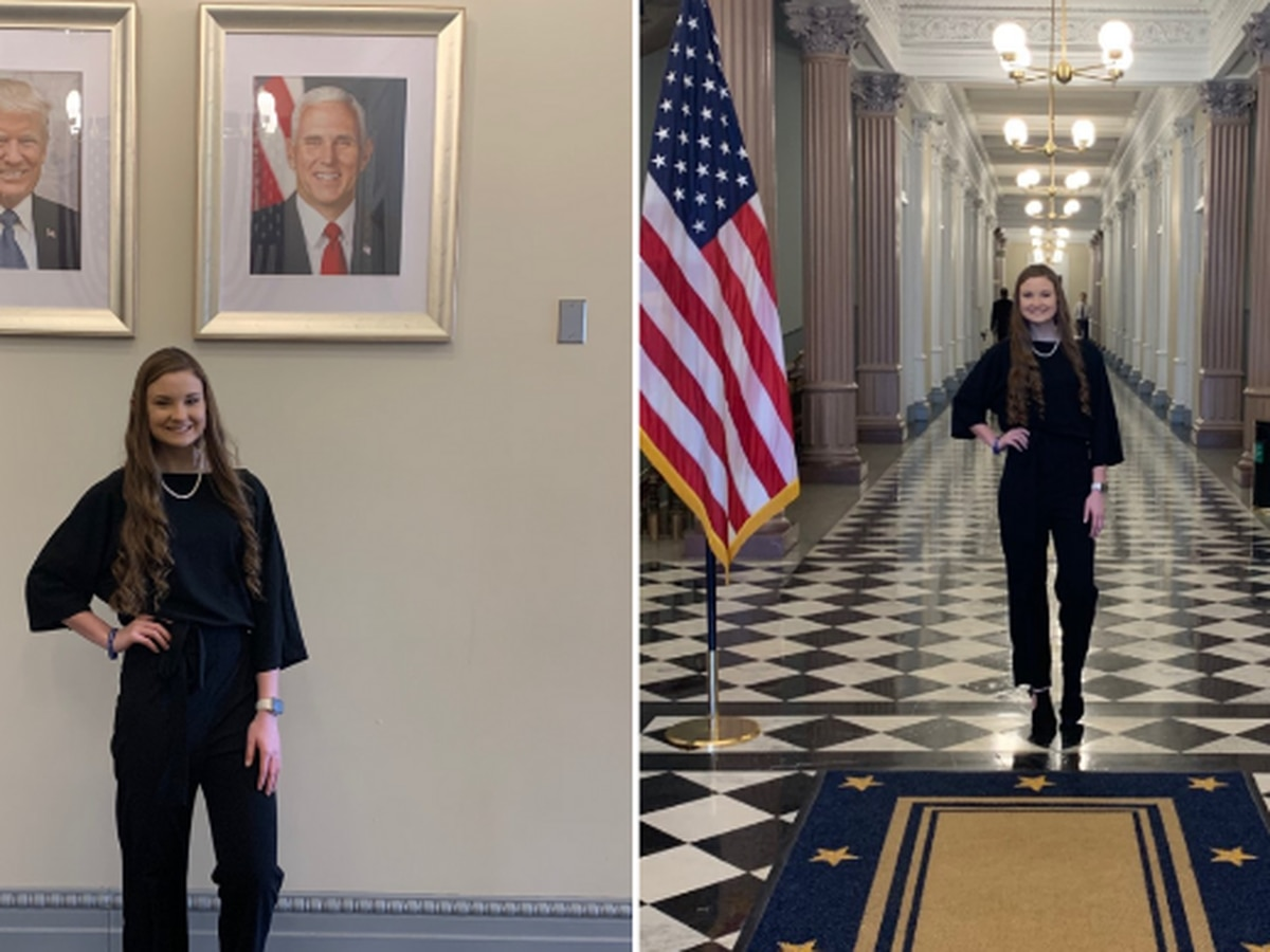 Pike County teen meets with President Trump on behalf of religious student organizations