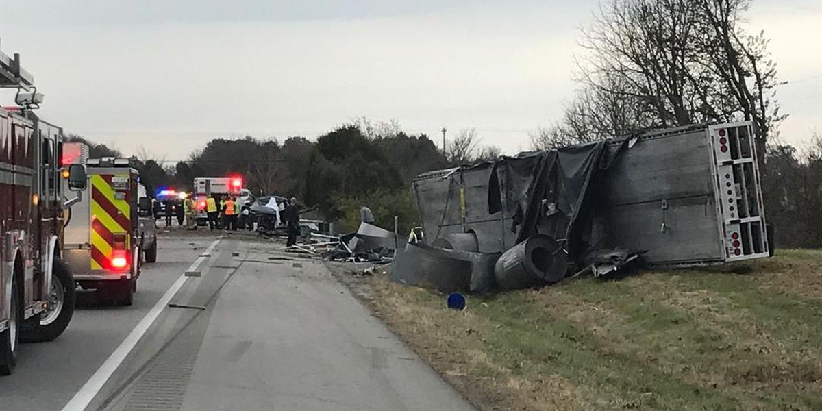 Man killed in crash on I-64 identified