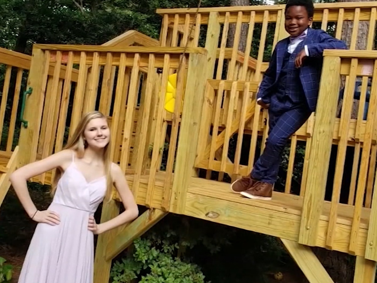 North Carolina boy holds prom for his nanny