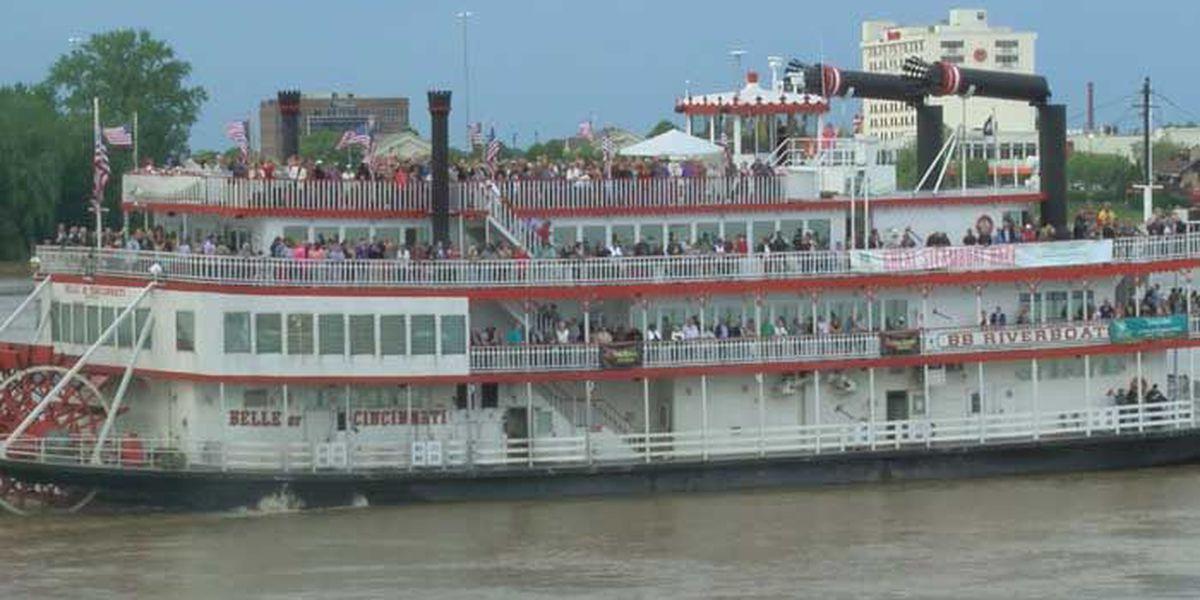 Belle of Cincinnati wins 2017 Steamboat Race