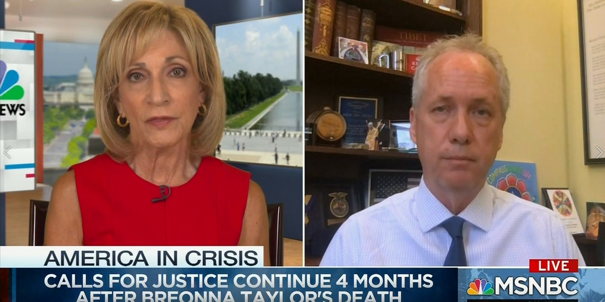 Mayor Greg Fischer appears on MSNBC to talk Breonna Taylor Case