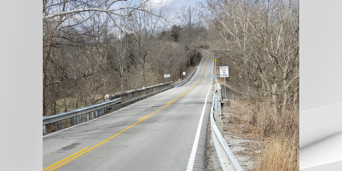 Bridge on Anderson-Spencer County line closed for repair