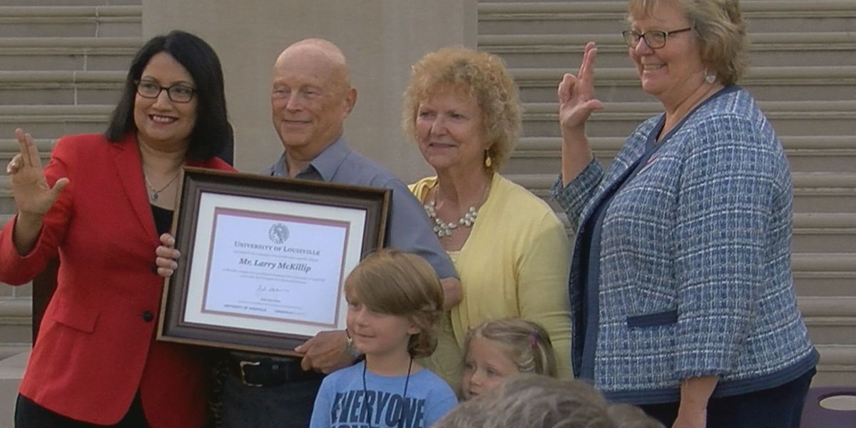 UofL awarded Vietnam veteran his degree he was never able to finish