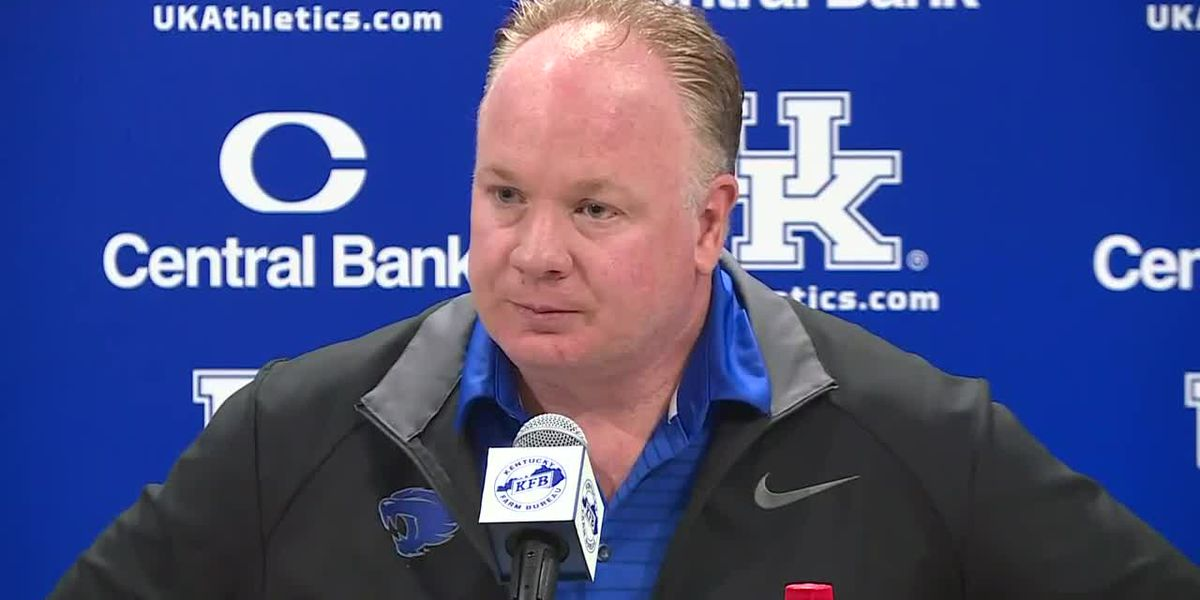 Mark Stoops Oct. 21 news conference