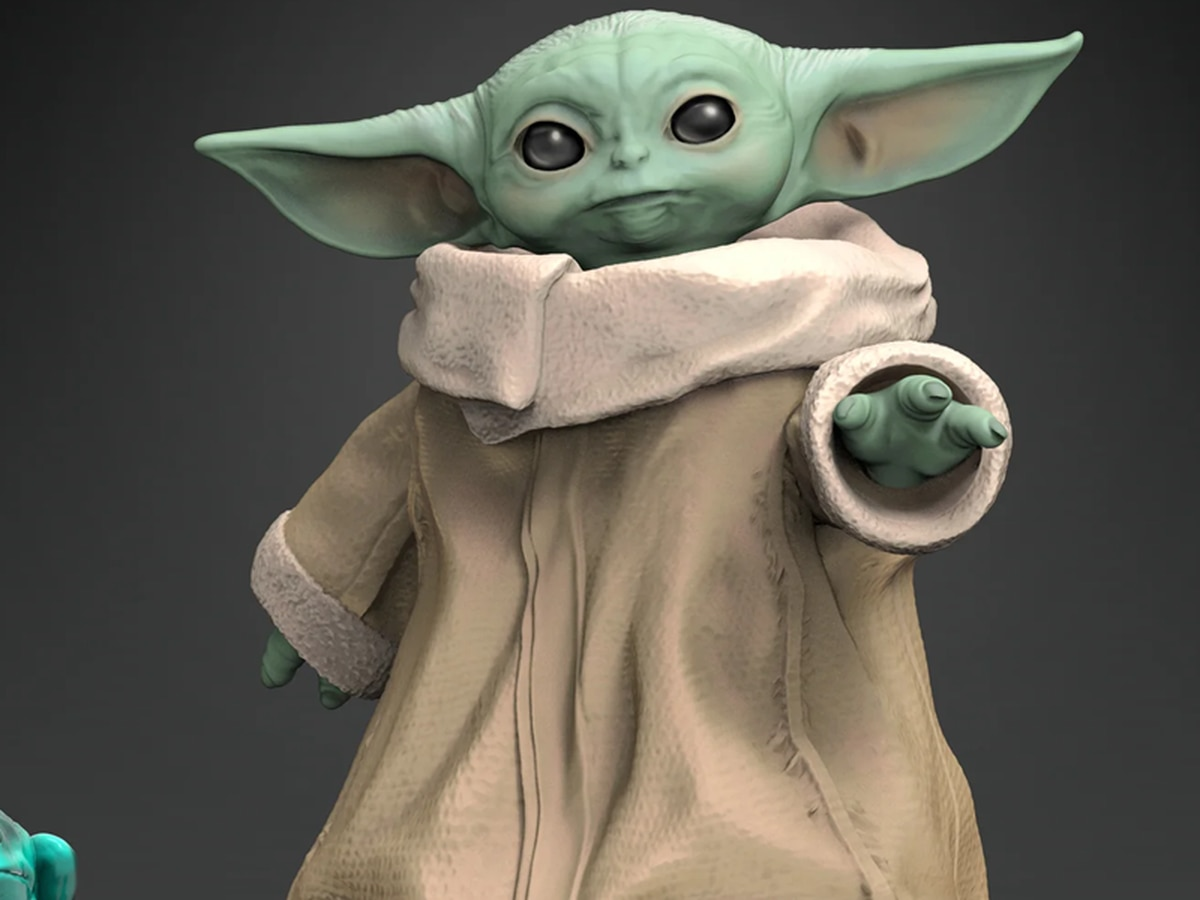 Report: Official Baby Yoda toys rolled out by Hasbro