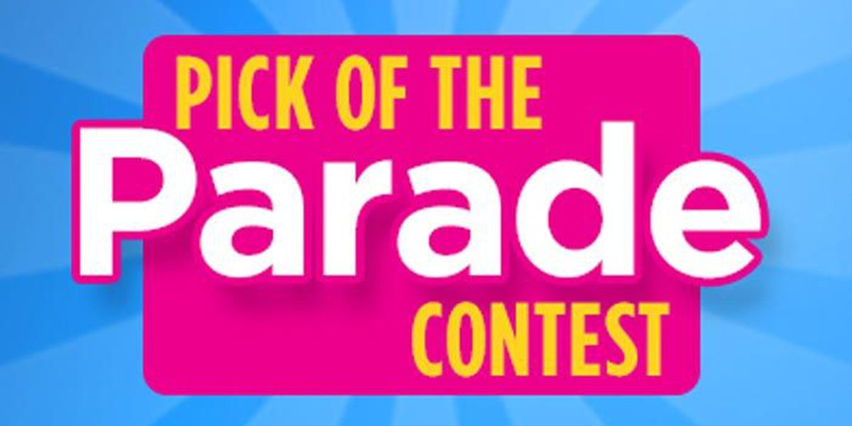 Pick Of The Parade: Vote for your favorite float!