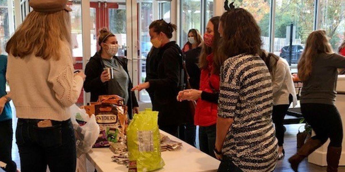 Gilda's Club Kentuckiana delivers Halloween treats to local kids living with cancer